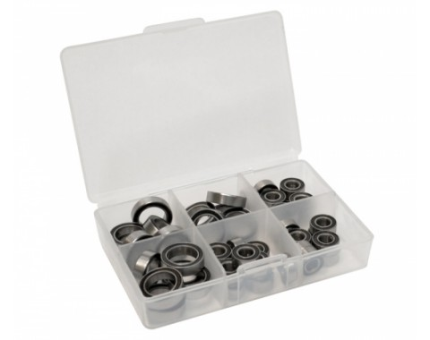 High Performance Full Ball Bearings Set Rubber Sealed (26 Total) -
