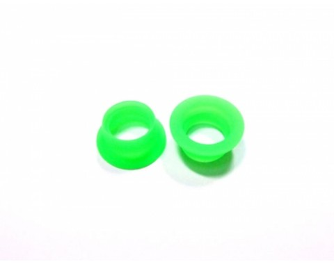 Silicone Exhaust Adaptor-S 2pcs Green