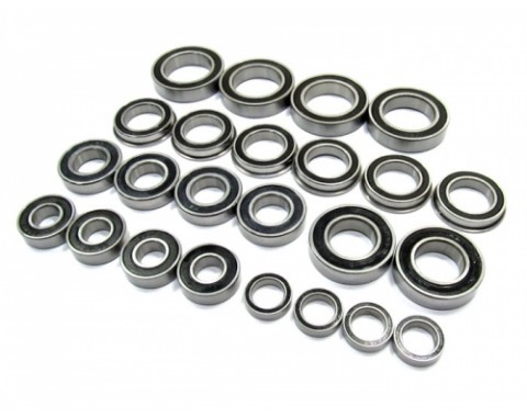 Ceramic Rubber Sealed Full Ball Bearing Set (24 Total)