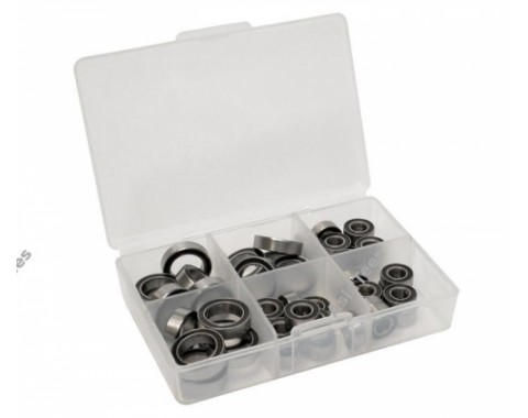 High Performance Full Ball Bearings Set Rubber Sealed (27 Totals)