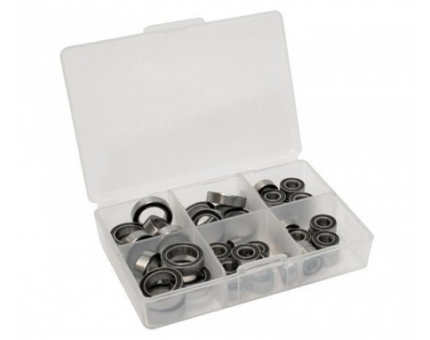 High Performance Full Ball Bearings Set Rubber Sealed (16 Total)